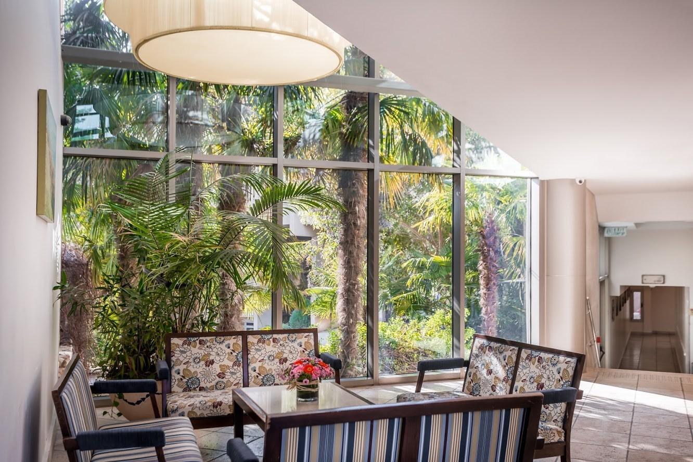 מלון לביא - פינת ישיבה